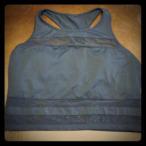 037f408d1d Fabletics Other - Black XL Fabletics crop mesh bra